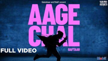 Aage Chal Lyrics - Raftaar