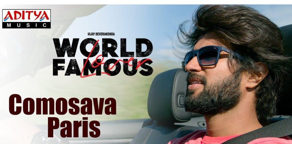 COMOSAVA PARIS LYRICS – World Famous Lover