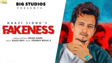 Fakeness Lyrics - Haazi Sidhu