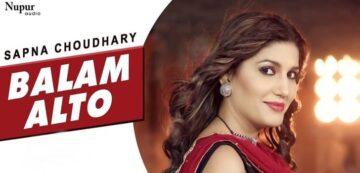Balam Alto Lyrics - Sapna Choudhary   Vandana Jangir