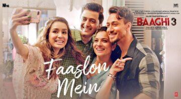 Faaslon Mein Lyrics - Baaghi 3