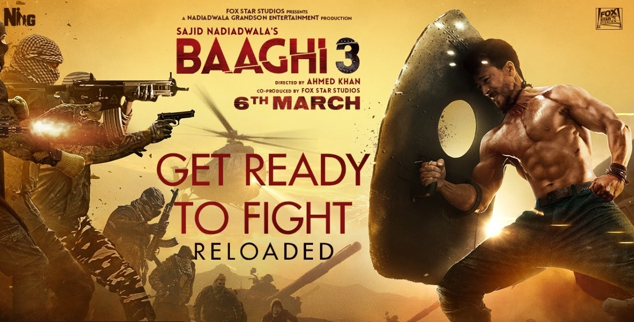 Get Ready To Fight Reloaded Lyrics - Baaghi 3