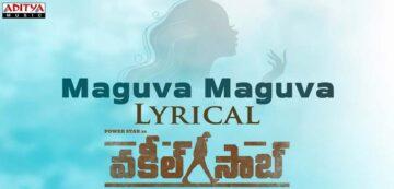Maguva Maguva Lyrics - Vakeel Saab