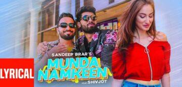 Munda Namkeen Lyrics - Sandeep Brar