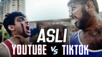 Asli YouTube Vs TikTok Lyrics - Salil Jamdar