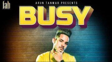 Busy Lyrics - RS Chauhan