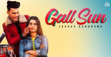 Gall Sun Lyrics - Sourav Randhawa