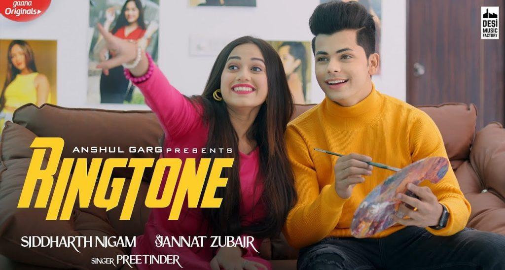 Ringtone Lyrics - Preetinder | Jannat Zubair
