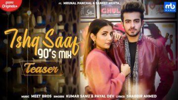 Ishq Saaf 90's Mix Lyrics - Kumar Sanu x Payal Dev