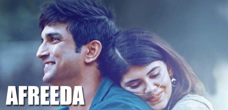 Afreeda Lyrics - Dil Bechara | Raja Kumari