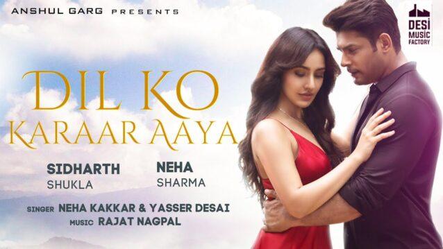 Dil Ko Karaar Aaya Lyrics - Neha Kakkar