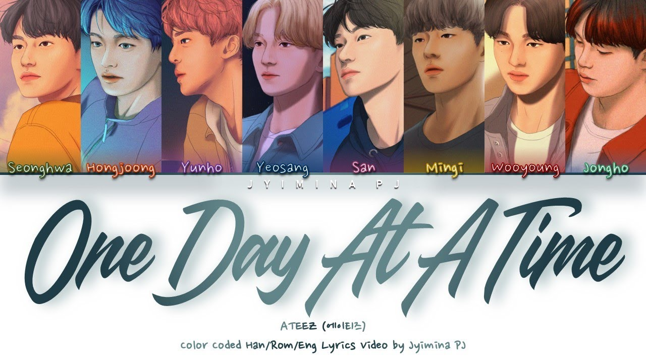 One Day At A Time Lyrics - ATEEZ