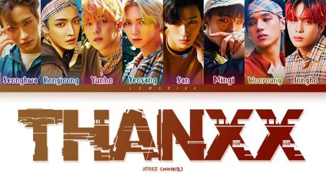 THANXX Lyrics - ATEEZ