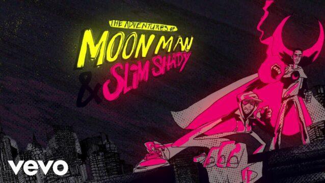 The Adventures Of Moon Man & Slim Shady Lyrics - Kid Cudi ft. Eminem