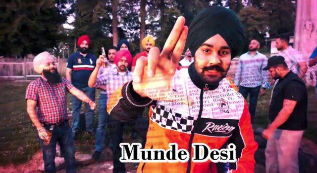 Munde Desi Lyrics - NseeB
