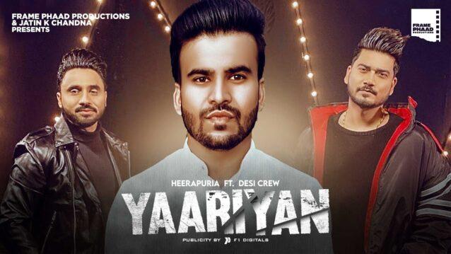 Yaariyan Lyrics - Heerapuria