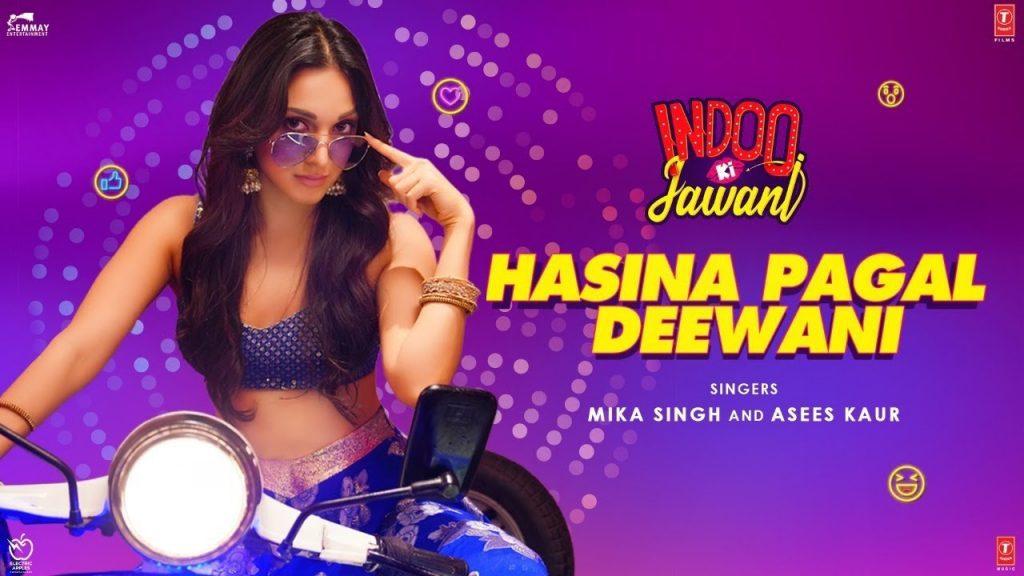 Hasina Pagal Deewani Lyrics - Indoo Ki Jawani
