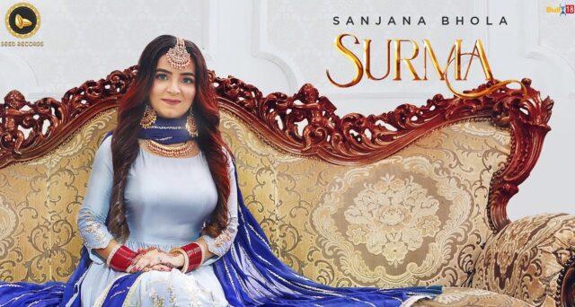 Surma Lyrics - Sanjana Bhola