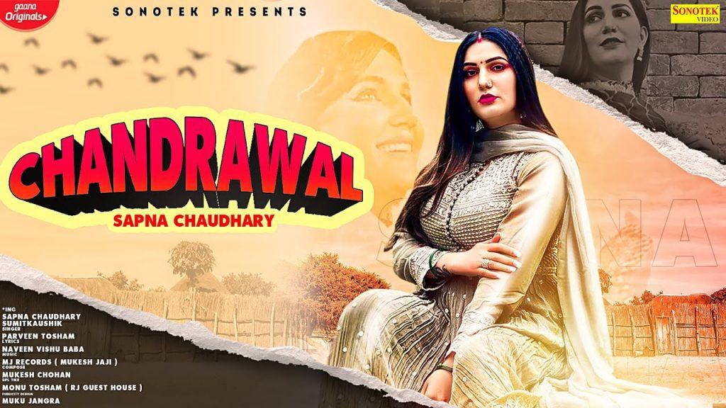 Chandrawal Lyrics - Parveen Tosham | Sapna Chaudhary