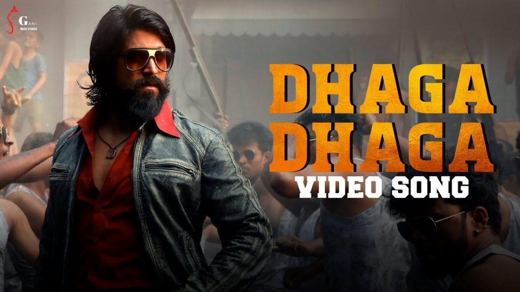 Dhaga Dhaga Lyrics - KGF 2