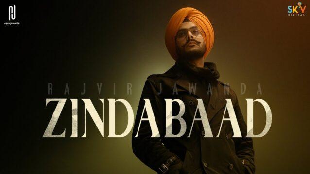 Zindabaad Lyrics - Rajvir Jawanda