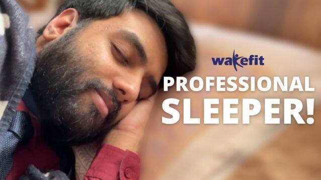 Professional Sleeper Lyrics - Yashraj Mukhate