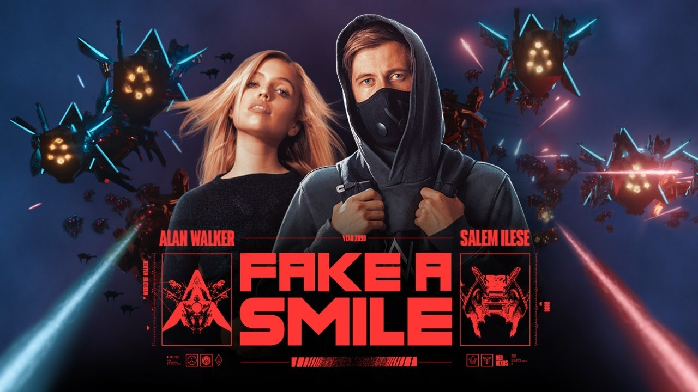Fake A Smile Lyrics - Alan Walker x Salem Ilese