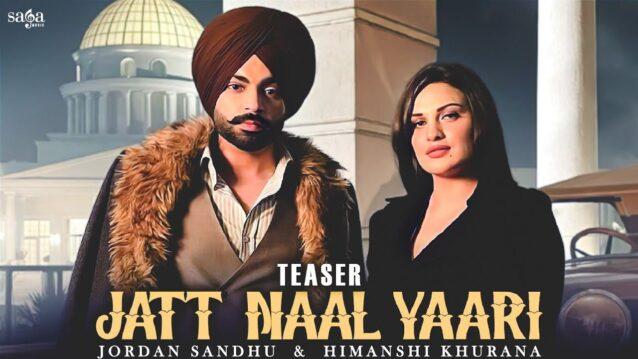 Jatt Naal Yaari Lyrics - Jordan Sandhu