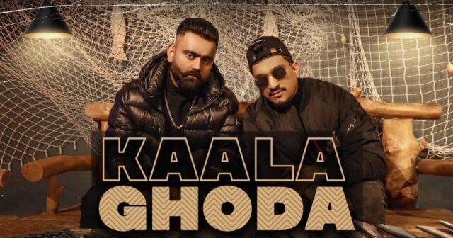 Kaala Ghoda Lyrics - Amrit Maan ft. Divine