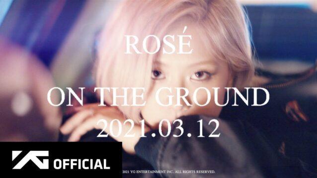On The Ground Lyrics - Rosé