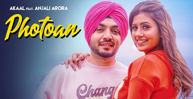 Photoan Lyrics - Akaal ft. Anjali Arora