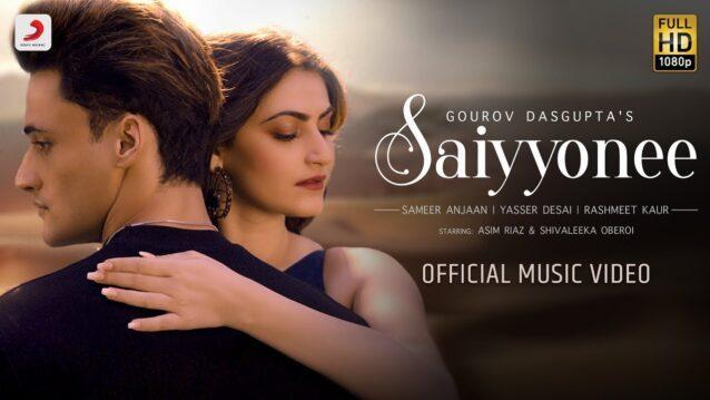 Saiyyonee Lyrics - Yasser Desai x Rashmeet Kaur