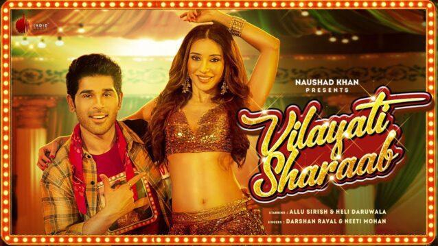 Vilayati Sharaab Lyrics - Darshan Raval x Neeti Mohan