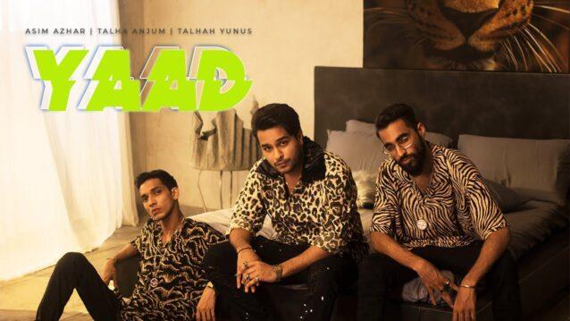 Yaad Lyrics - Asim Azhar ft. Young Stunners
