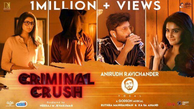 Criminal Crush Lyrics - Anirudh Ravichander