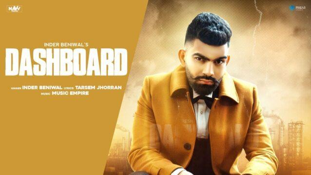 Dashboard Lyrics - Inder Beniwal