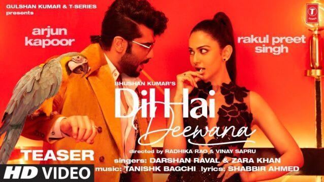 Dil Hai Deewana Lyrics - Darshan Raval x Zara Khan