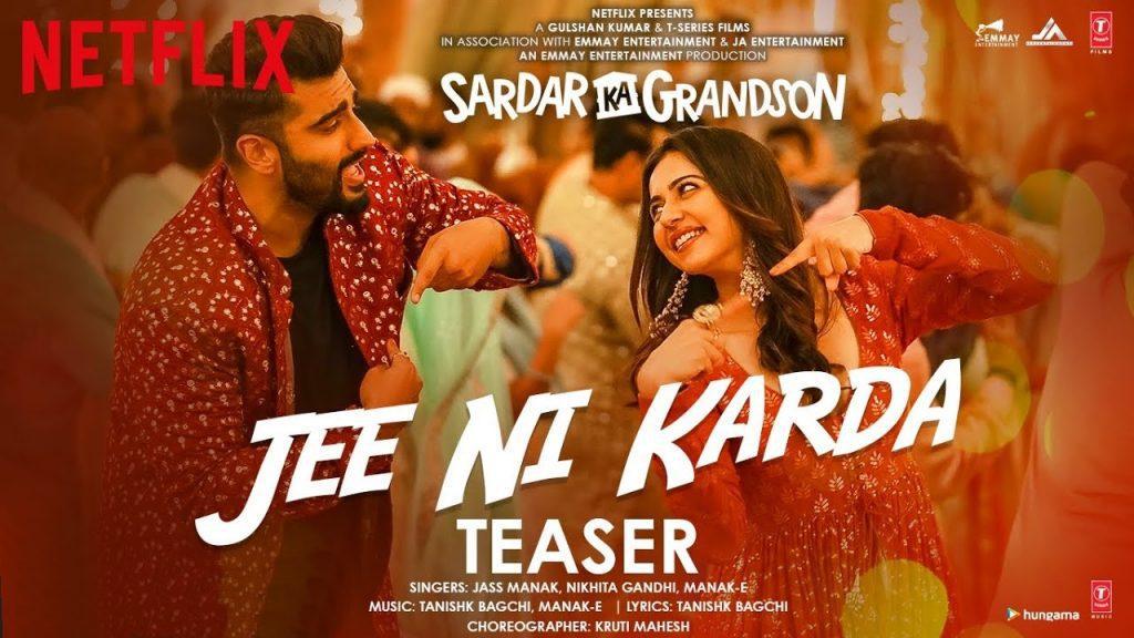 Jee Ni Karda Lyrics - Sardar Ka Grandson | Jass Manak