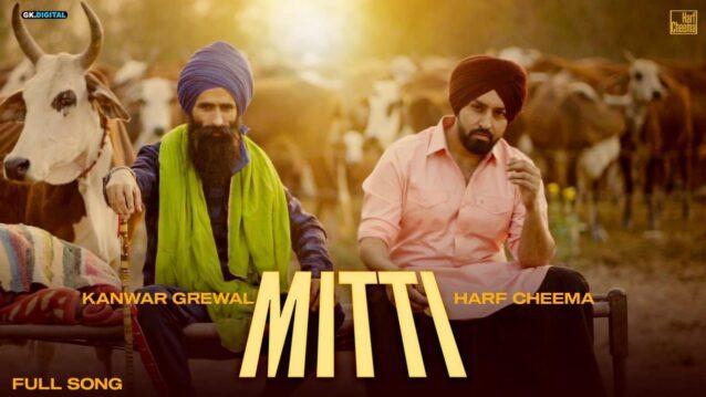Mitti Lyrics - Harf Cheema x Kanwar Grewal