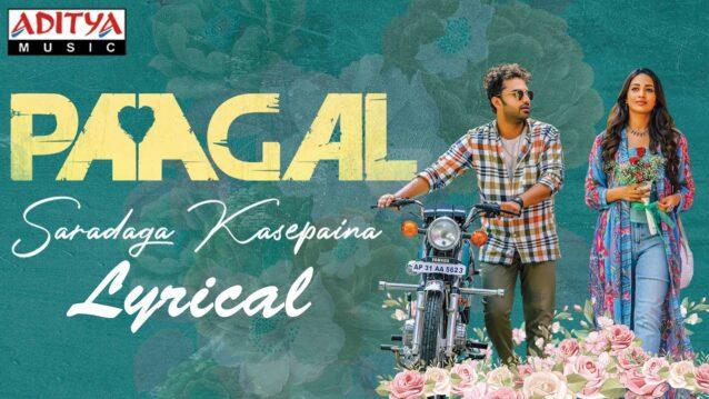 Saradaga Kasepaina Lyrics - Paagal