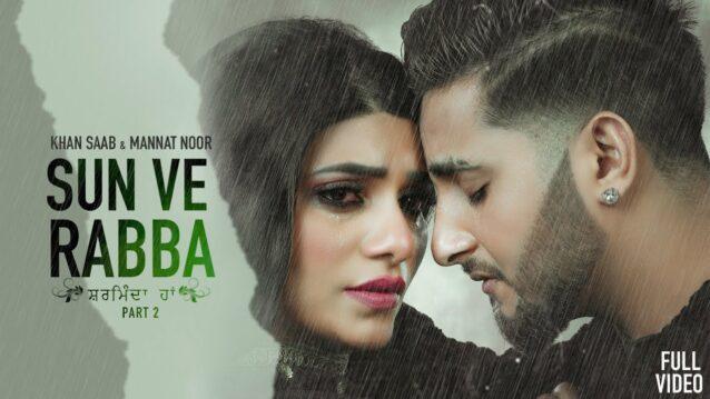 Sharminda Haan Lyrics - Khan Saab x Mannat Noor