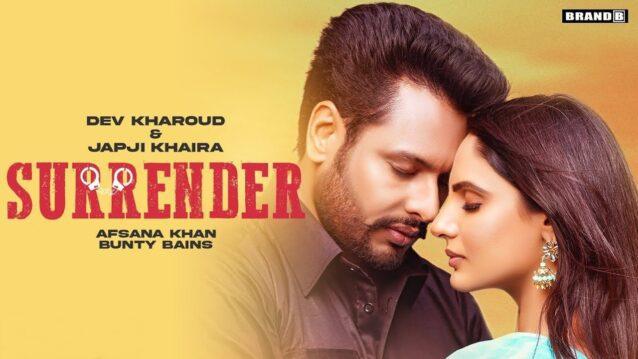 Surrender Lyrics - Afsana Khan