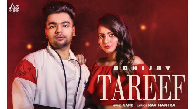 Tareef Lyrics - Abhijay