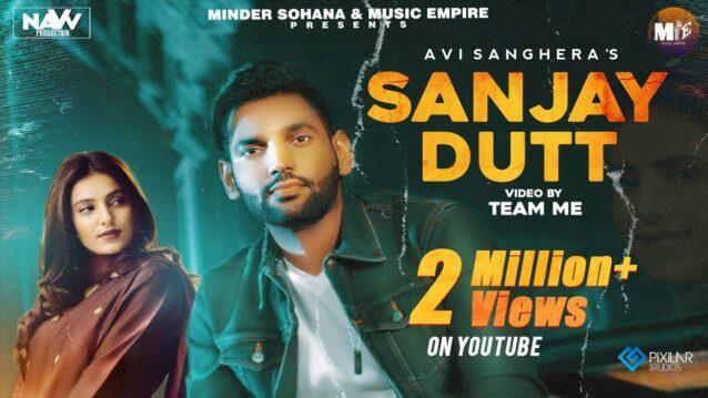 Sanjay Dutt Lyrics - Avi Sanghera x Gurlez Akhtar