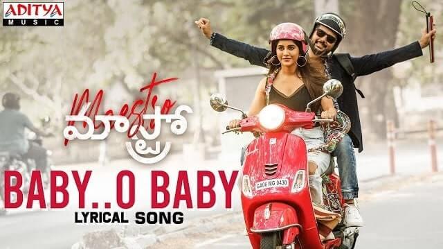 Baby Oh Baby Lyrics - Maestro | Anurag Kulkarni