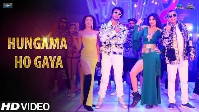 Hungama Ho Gaya Lyrics - Hungama 2 | Mika Singh