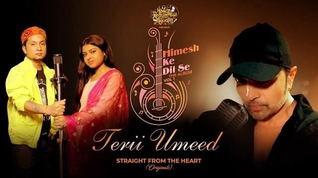 Terii Umeed Lyrics - Pawandeep Rajan | Arunita Kanjilal