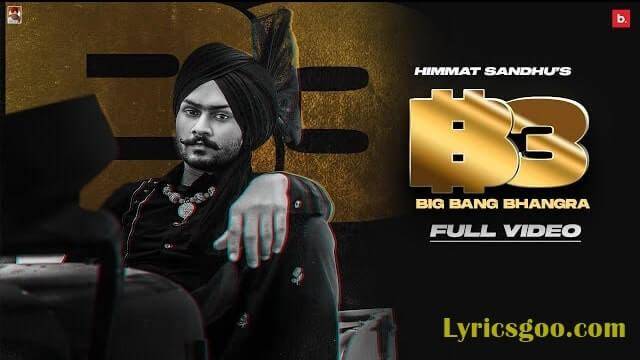 Big Bang Bhangra Lyrics - Himmat Sandhu