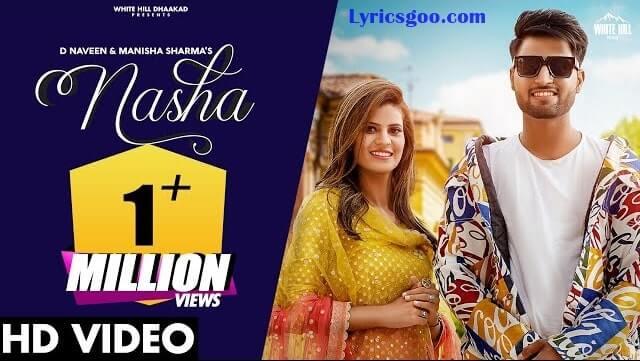Nasha Lyrics - D Naveen   Manisha Sharma