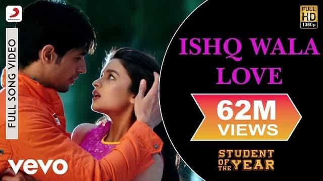 Ishq Wala Love Lyrics - Student Of The Year